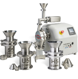 The SLS offers five milling solutions so that PSDs achieved at lab-scale can be duplicated in production equipment